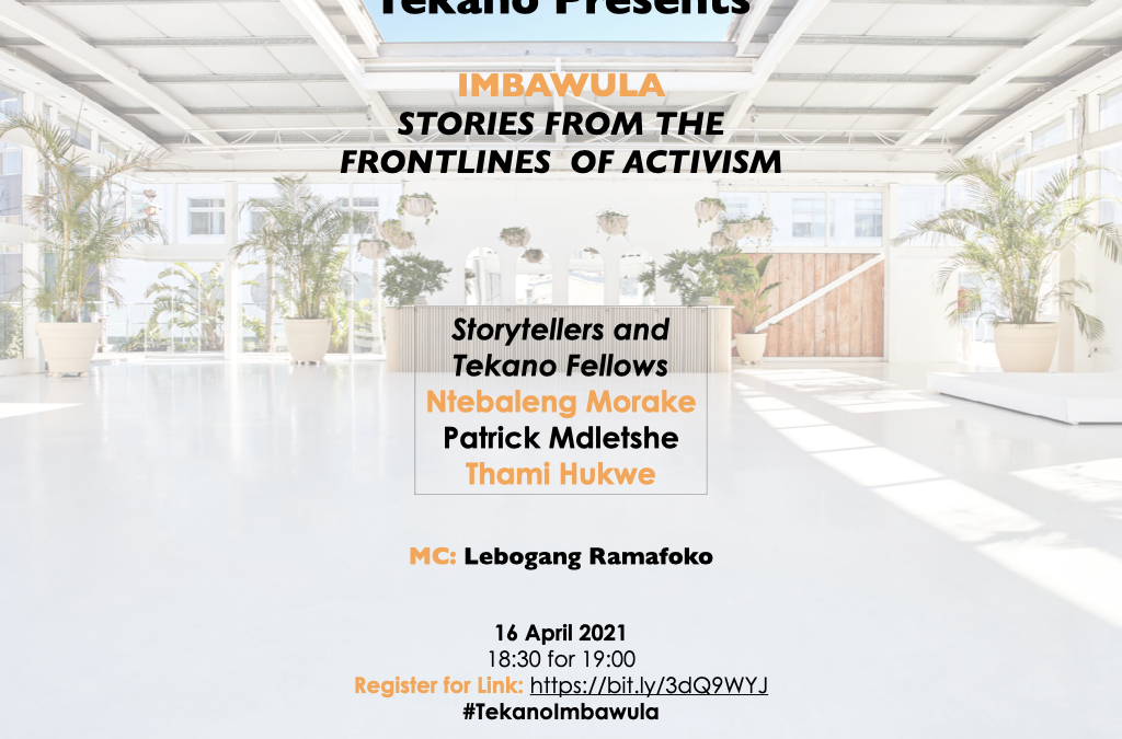 Tekano invites you to our first Imbawula